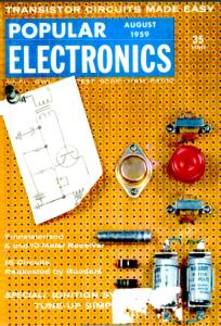Popular Electronics magazine cover